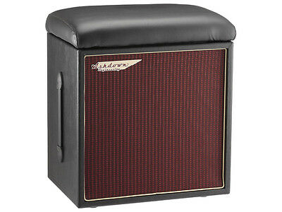 Ashdown Seat / Stool with Storage! Looks like Bass Guitar Amp Cab  - Ideal Gift!