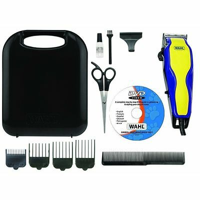 Wahl 9269-810 Multi Cut Pro Blade Mains Dog Clipper Set & Instructional DVD New