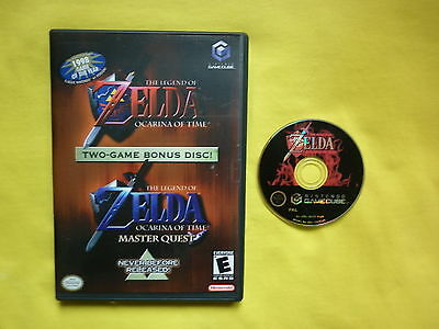 gamecube wii * THE LEGEND OF ZELDA OCARINA OF TIME + MASTER QUEST * PAL