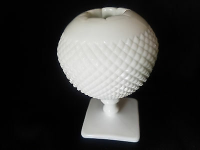 Westmoreland Milk Glass English Hobnail Ivy Ball
