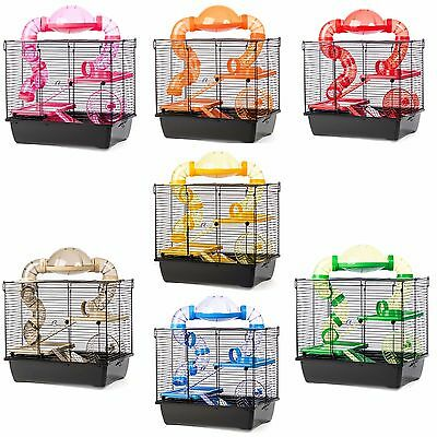 Pet Hamster Cage with Accessories Gerbil Small Animals