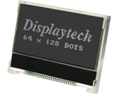 1 x Graphic Transflective LCD Monochrome Display LED Backlit 128 x 64 pixels