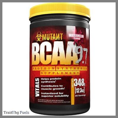 PVL Mutant BCAA 9.7 348g Muscle Recovery & Growth 9.7g amino acids per scoop