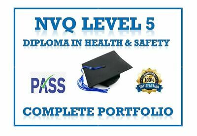 Nvq Level 5 Diploma In Health And Safety Completed Portfolio 2018/19 Email