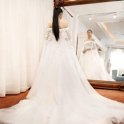 New custom White/Ivory Wedding Dress Bridal Gown Size:6/8/10/12/14/16