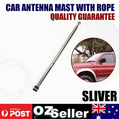 Replacement Power Aerial Mast + Rope for Holden Commodore VY Series 1 2002-2003