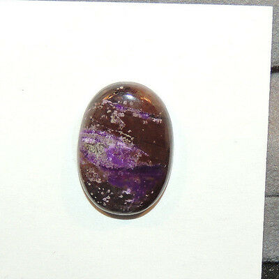 Sugilite Cabochon 20x14mm with 4.5mm dome (10987)