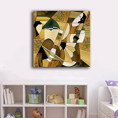 Abstract Stretched Canvas Prints Framed Wall Art Home Decor Office Painting Gift