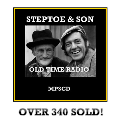 Steptoe and Son 56 Old Time Radio Shows  Series 1-6  MP3 CD comedy otr *SUPERB!*