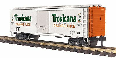 MTH  70-78039 ONE GAUGE G SCALE TROPICANA 40 ft REEFER #728