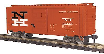 MTH 70-74080  ONE GAUGE G SCALE NEW HAVEN  40 ft BOX CAR #32183