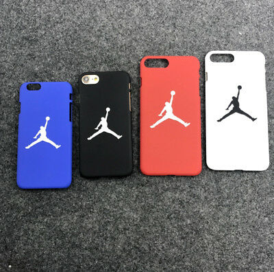 cover custodia case iphone 5 5s 6 6s 7 plus plastic basket jordan pallacanestro