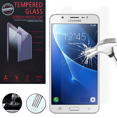 Lot/ Pack Film Verre Trempe Protecteur Protection Samsung Galaxy J7 (2016) J710F