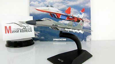 1:148 MIG-29 Legendary Planes Aircrafts of USSR Russian Diecast Deagostini