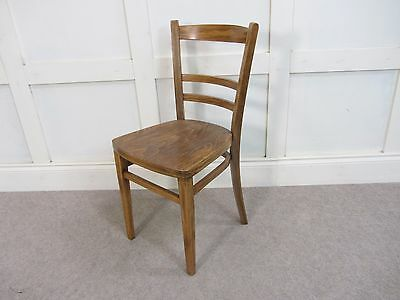 Antique Vintage 1920s Thonet Bentwood Kitchen Chair Barback