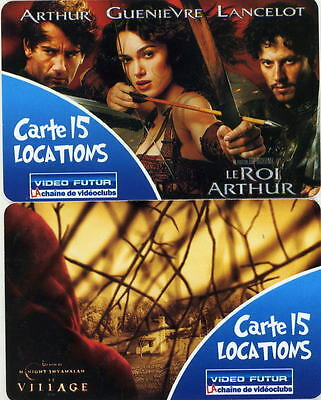 """Video Futur 2 Cartes  Hors Serie """"15 Locations""""  Luxe"""