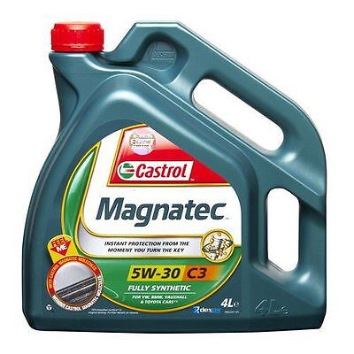 Castrol Magnatec Professional C3 5W30 Fully Synthetic Engine Motor Oil - 4 Litre