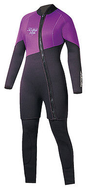 Action Plus Women s 6.5mm Farmer Jane Two Piece Wetsuit Sz Large MADE IN  USA! 57d42943e