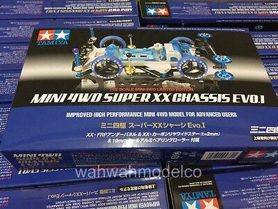 Tamiya 94780 1/32 Mini 4WD Super XX Chassis EVO I Special HG Limited Edition