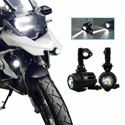 2pcs Cree LED Fog Light Safety Driving Lamp Motorcycle for BMW K1600 R1200GS ADV
