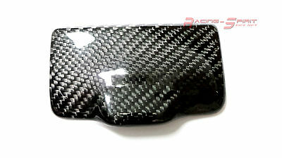 Rare Real Glossy Carbon Fiber Rear Ashtray Lid Cover For 99-05 Lexus Is300 Xe10