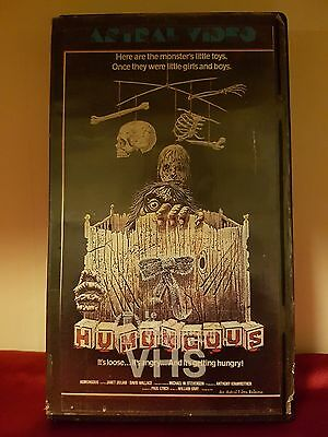 Humongous Original Astral Video Rare Vhs Beta Cult Horror Movie 1981 Version