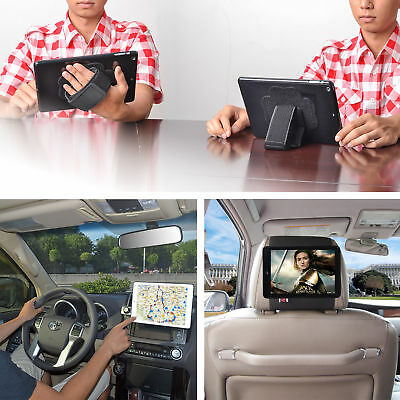 Car Mount Holder,Handstrap Stand for i Pad 2/3/4,i Pad Air i Pad Mini By TFY