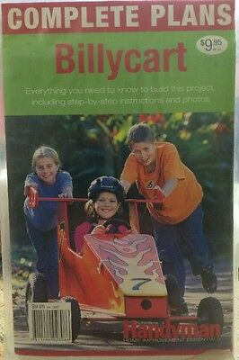 Woodworking Billycart Paper plans. New & sealed packaging. Free post