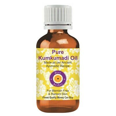 Kumkumadi Oil 100% Pure & Natural Ingredients Ancient Ayurvedic Recipe