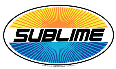 Sublime - Oval Sticker
