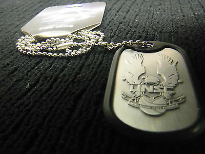 Halo 4 Dog Tag (Made of durable brushed metal)