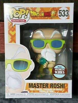 Funko Pop! Dragon Ball Z Master Roshi Specialty Series Exclusive Mint in Box