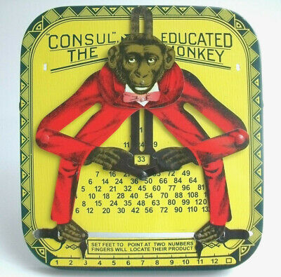 Consul The Educated Monkey Affenrechner Affe Rechner