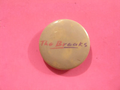 """Vintage The Breaks 1"""" Button Badge Pin Uk Import"""