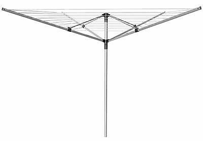Heavy Duty 4 Arm Rotary Clothes Airer / Dryer 50m Washing Line