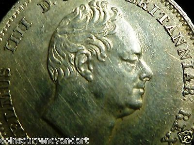 UK -  Great Britain 1834  Fourpence, Groat Silver  -High Grade -One Of the Best
