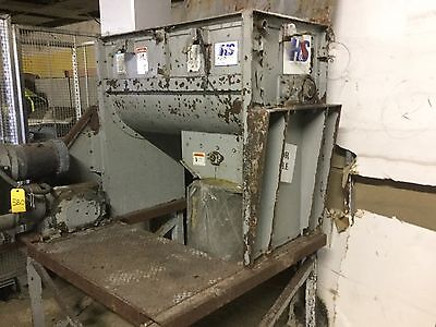 Used Hayes and Stolz Ribbon Blender Continuous Mixer  10hp Great condition 80gal