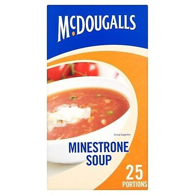 McDougalls Minestrone Soup 25 Portions 348g