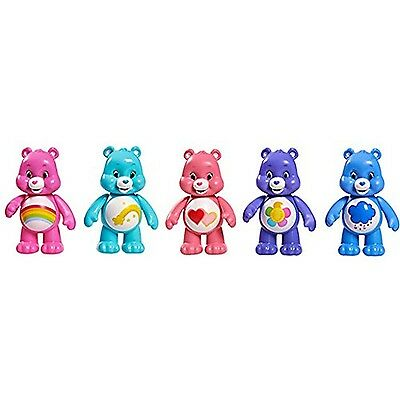"Vivid Imaginations ""Care Bears"" Figures (Pack of 5 Multi-Colour)"