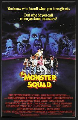 The Monster Squad 1987 Fantasy/Action Classic Movie POSTER