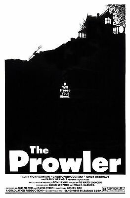 The Prowler 1981 Slasher/Cult Classic Movie POSTER
