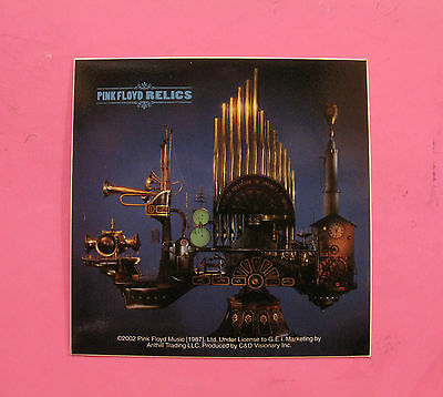 Pink Floyd New Official Sticker 2002 Relics