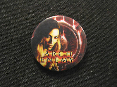 """New Arch Enemy 1"""" Badge Pin Button Uk Made Metal"""