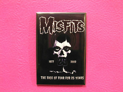 Misfits Magnet --Collectable---25 Years---Official 2002