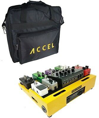 Pedalboard Accel XTA15 Pro Tier Pedal board with Tote Bag