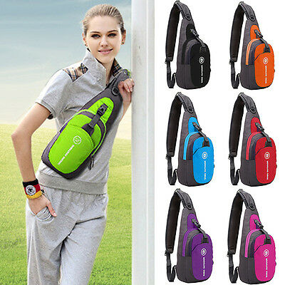 Sling Hiking Chest Bag Unisex Waterproof Shoulder Messenger Unbalanced Backpack