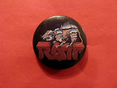 """Official 1984 Ratt Vintage Button Badge Pin 1 1/4"""""""