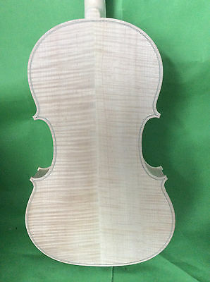 "white viola  16.5""  Ornati model  nice flamed maple back  NO2"