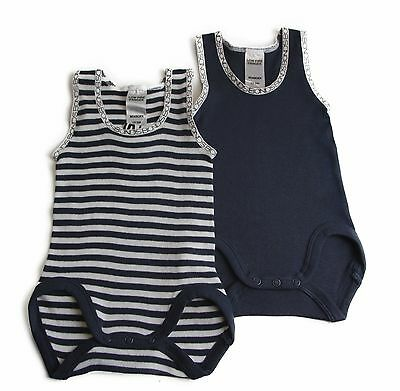 NWT Bonds Singletsuit Baby Boy Boys Jumpsuit Stripes Size 0000 000 00 0 1