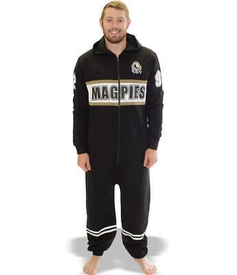 AFL Onesie Footy Suit - Collingwood Magpies - Kids Youth Adult - All Sizes